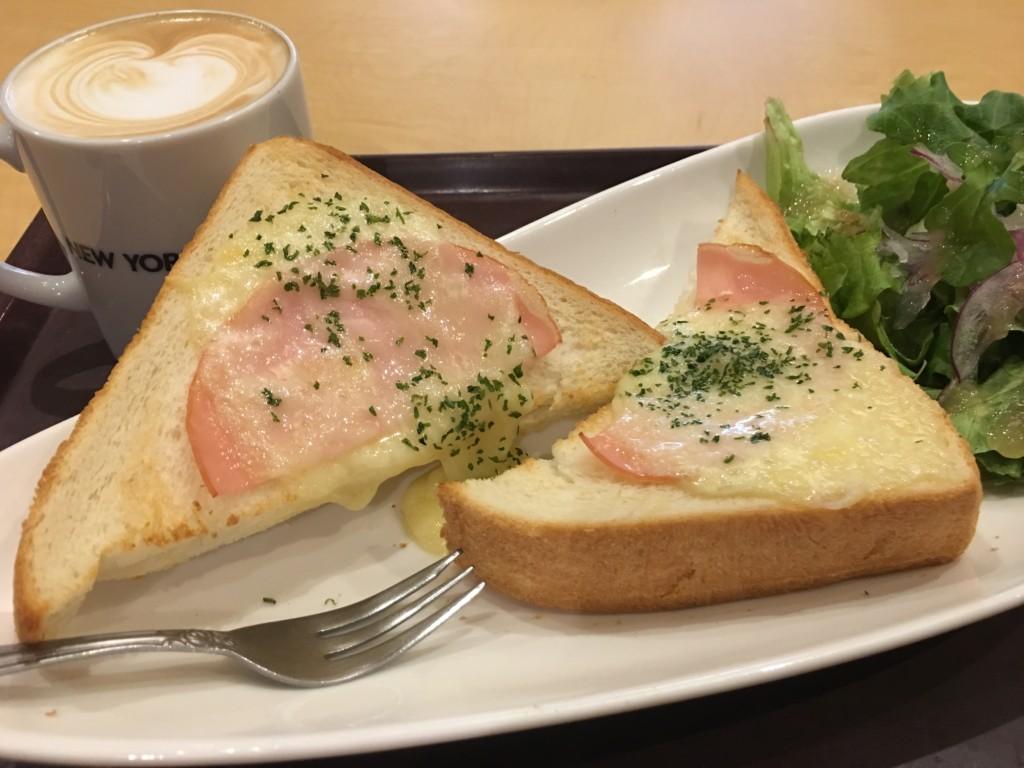 【朝カフェ】水道橋 New Yorker's Cafe