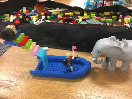 2018年の経験を振り返ってレゴで形にしてみた